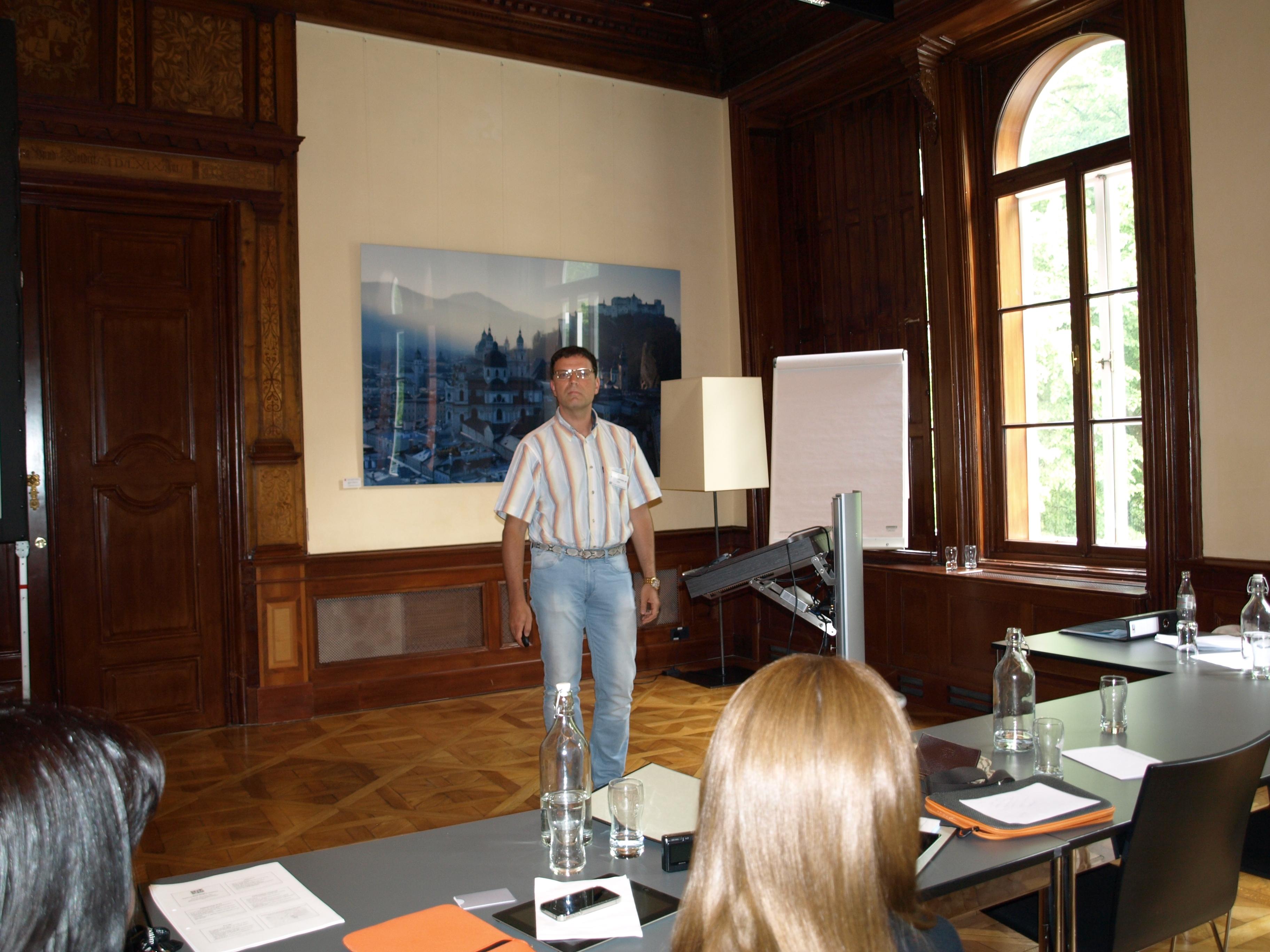 Dr Pozarskis uzstājās ģimenes ārstu kongresā, Zalcburgā